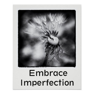 Embrace Imperfection Poster