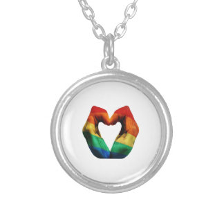 EMBRACE IT ALL SILVER PLATED NECKLACE