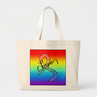 Embrace Love Large Tote Bag