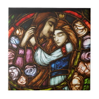 Embrace of lovers tile