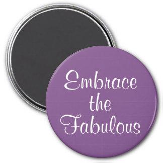 Embrace the Fabulous Affirmation Magnet