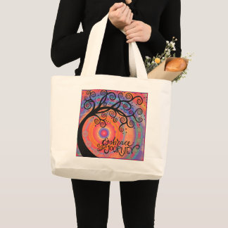 Embrace the Journey jumbo tote