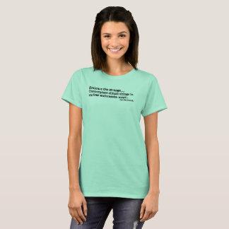 Embrace the Strange - Womens T-Shirt