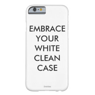 embrace white clean case barely there iPhone 6 case