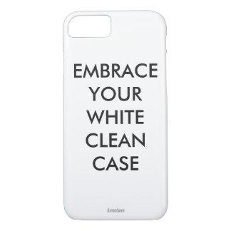 embrace white clean case