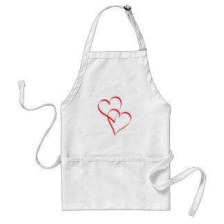 Embracing Hearts Standard Apron