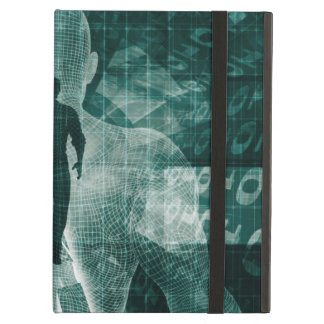 Embracing New Technology of the Future as Art iPad Air Cover