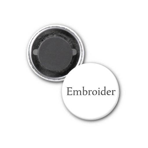 Embroider Fridge Magnets
