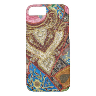 Embroidered and Beaded Textile iPhone 7 Case