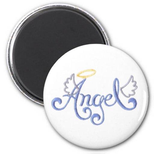 Embroidered Angel Fridge Magnets
