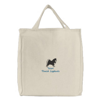 Embroidered Bag - Yutori Finnish Lapphunds