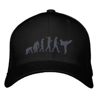 Embroidered Black Belt Karate martial arts sports Embroidered Hat