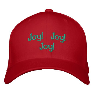 Embroidered Christmas Sayings Embroidered Cap