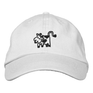 Embroidered Cow Hats Embroidered Baseball Caps