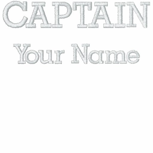 EMBROIDERED CUSTOM CAPTAIN SHIRT POLO SHIRTS