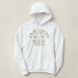 Embroidered Dallas Texas Hoodie