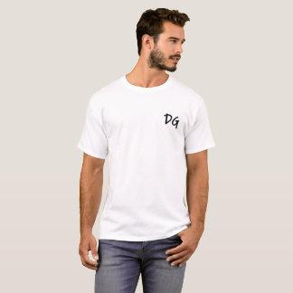 Embroidered DG (Dan Goodwin) T-Shirt White