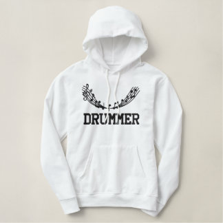 Embroidered Drummer Hoodie
