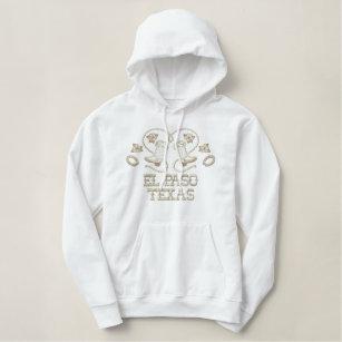Embroidered EL Paso Texas Sweatshirt