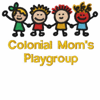 Embroidered Goldenrod Colonial Mom Member T-Shirt