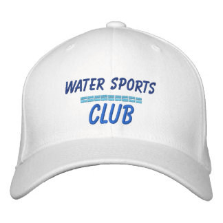 Embroidered Hat Water sports Club Embroidered Hat