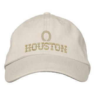 Embroidered Houston Texas Cap
