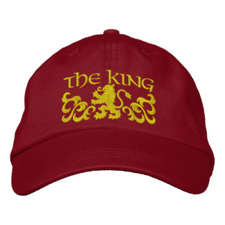 Embroidered King Cap/Hat Embroidered Hat