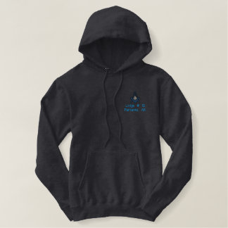 Embroidered Masonic Hoody 2B1 ASK1