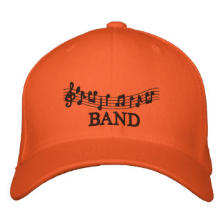 Embroidered Music Band Cap Baseball Cap