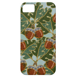 Embroidered Oak Leaves and Acorns iPhone 5 Case