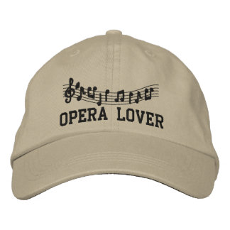 Embroidered Opera Lover Hat