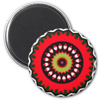 embroidered Ottoman Turkish carpet 18th century Magnets