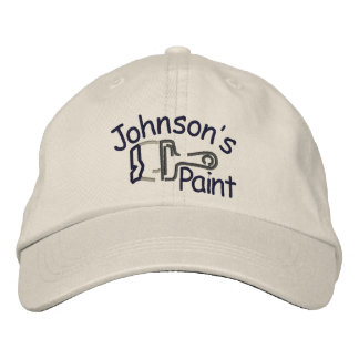 Embroidered Paint Embroidered Hat