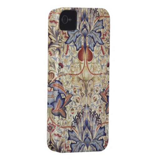 Embroidered Panel Morris and Company photo print iPhone 4 Covers