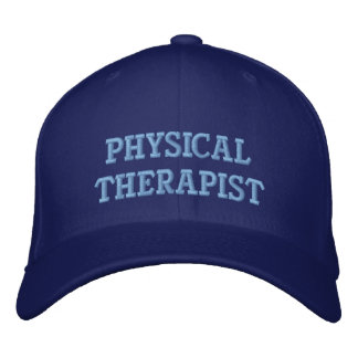Embroidered Physical Therapist Hat