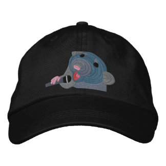 Embroidered Singing Rat Cap Embroidered Baseball Caps