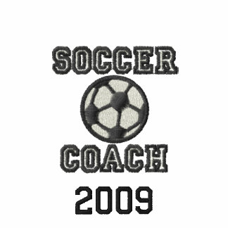 Embroidered Soccer Coach shirt Embroidered Shirt