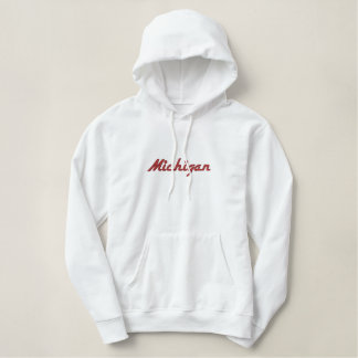 "Embroidered State name ""Add your State"" Embroidered Hoody"
