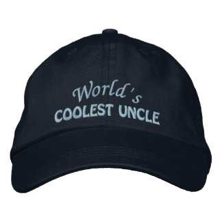Embroidered Uncle Gift Embroidered Cap