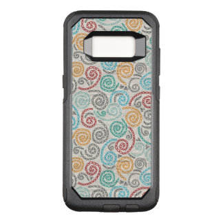 Embroidery fancy rumpled paper OtterBox commuter samsung galaxy s8 case