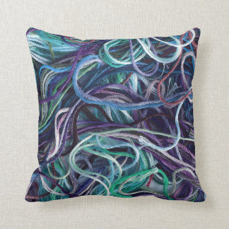 Embroidery Floss Texture • Crafts Cushion