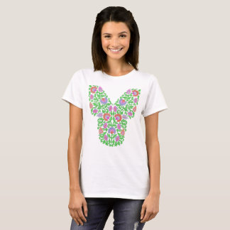 Embroidery style T-shirt