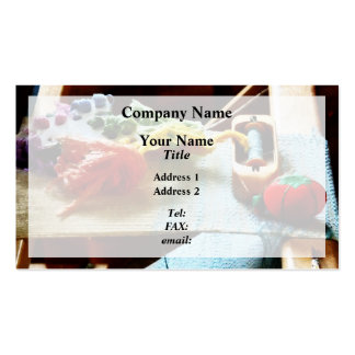 Embroidery Supplies Pack Of Standard Business Cards