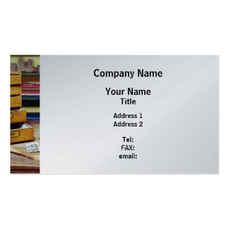 Embroidery Thread For Sale - Platinum Finish Pack Of Standard Business Cards