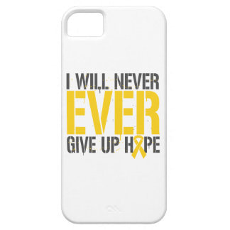 Embryonal Rhabdomyosarcoma I Will Never Ever Give Barely There iPhone 5 Case