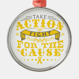 Embryonal Rhabdomyosarcoma Take Action Fight Cause Christmas Tree Ornaments