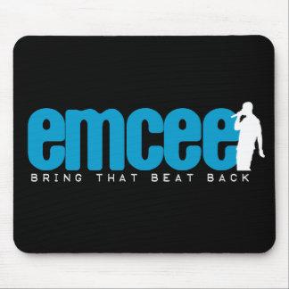Emcee (MC) - Blue Mouse Pad