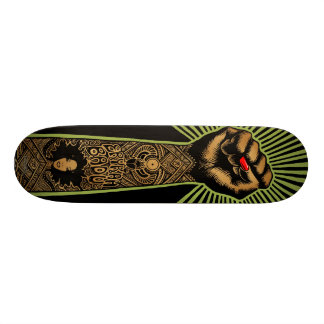 "Emek ""Badufist"" Custom Skate Board"