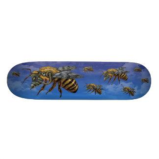 "Emek ""Bees"" 21.6 Cm Old School Skateboard Deck"