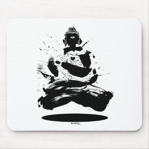 emek_buddha_mousepad mousepad
